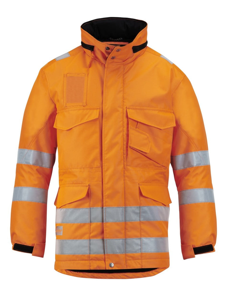 Snickers 1823 Winter Long Jack High Visibility - Snickers Werkkledij