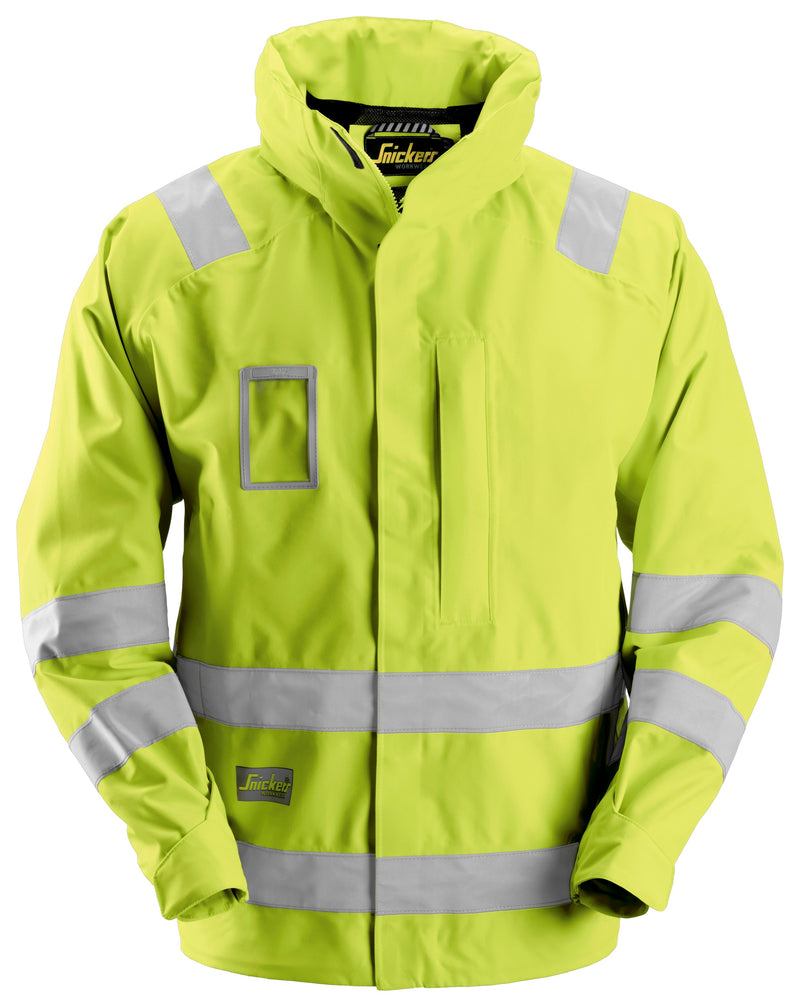 Snickers 1973 Waterproof Jack High Visibility - Klasse 3 - Snickers Werkkledij