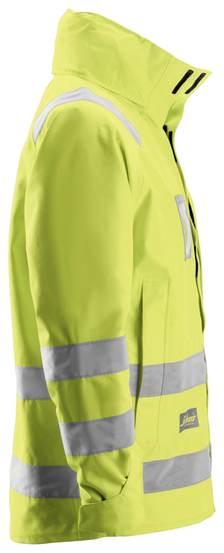 Snickers 1973 Waterproof Jack High Visibility - Klasse 3