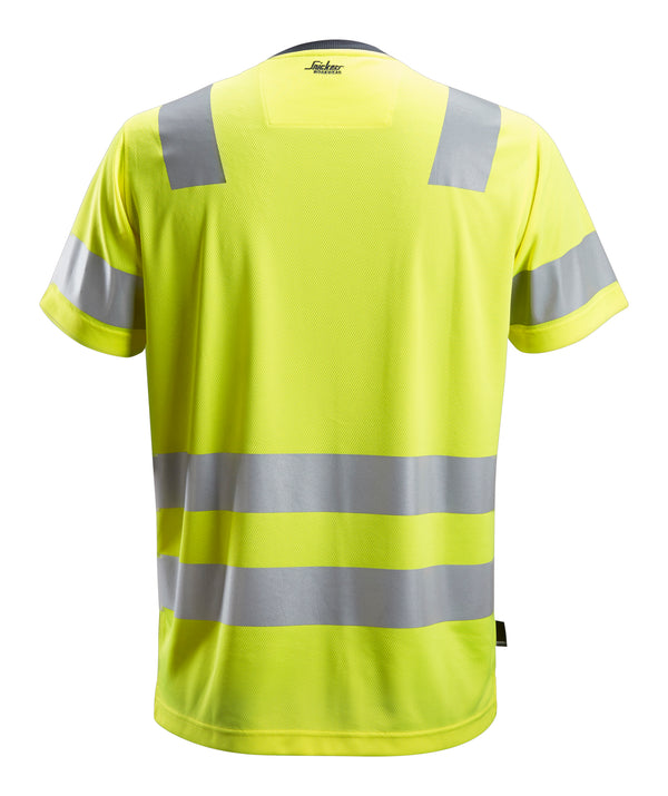 Snickers 2530 AllroundWork, High-Vis T-Shirt Klasse 2