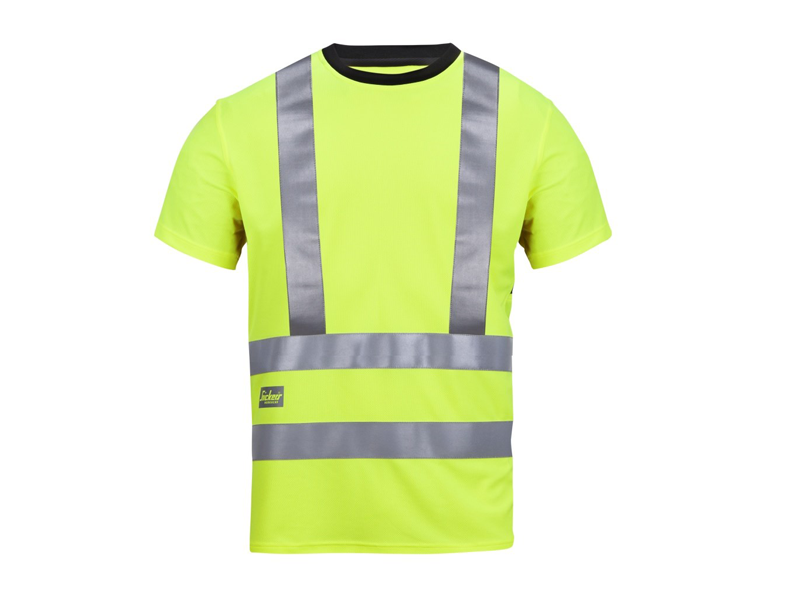 Snickers 2543 T-Shirt High Visibility - Snickers Werkkledij