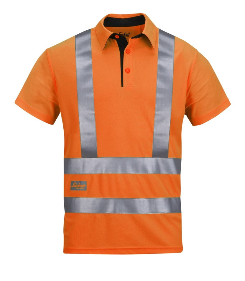 Snickers 2743 A.V.S. Poloshirt High Visibility - Snickers Werkkledij