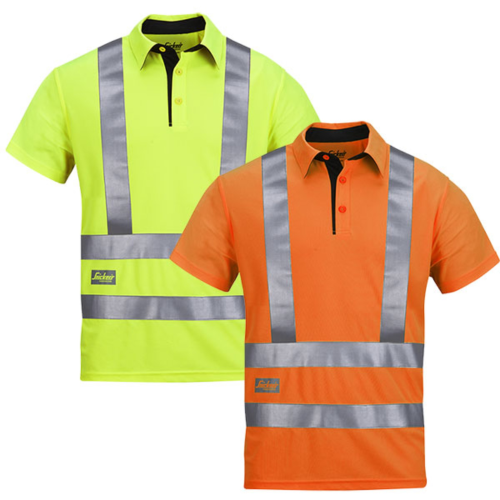 Snickers 2743 A.V.S. Poloshirt High Visibility