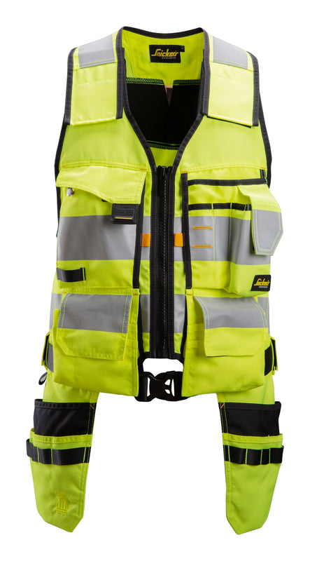 Snickers 4230 AllroundWork, High-Vis Toolvest Klasse 1