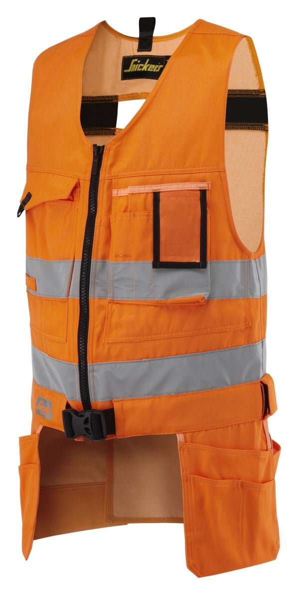 Snickers 4233 Craftsmen Toolvest High Visibility - Snickers Werkkledij