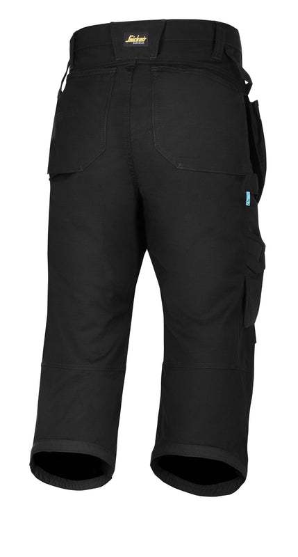Snickers 6103 LW 37.5 Pirate werkbroek+ HP - Black - Black