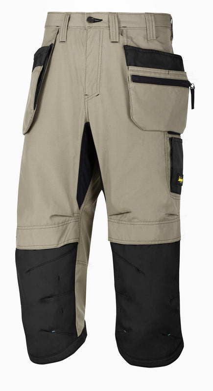 Snickers 6103 LW 37.5 Pirate werkbroek+ HP - Khaki - Khaki