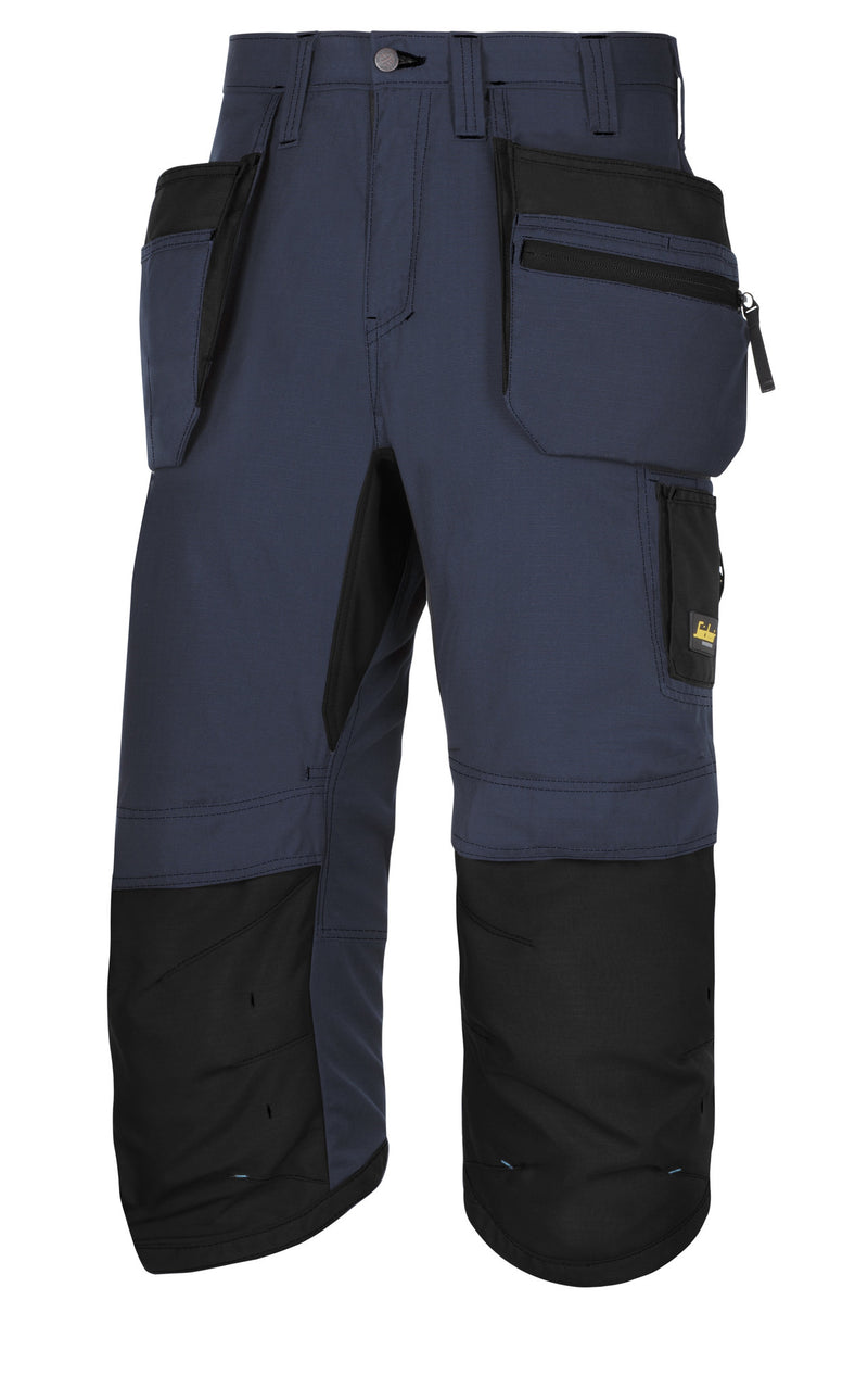 Snickers 6103 LW 37.5 Pirate werkbroek+ HP - Navy - Navy - Snickers Werkkledij