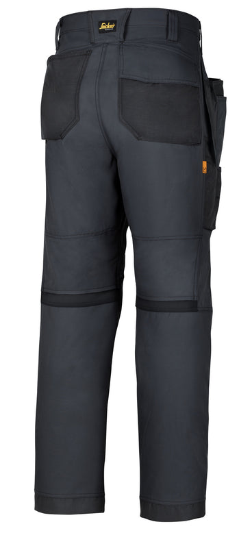 Snickers 6201 AllRoundWork werkbroek HP - Steel grey