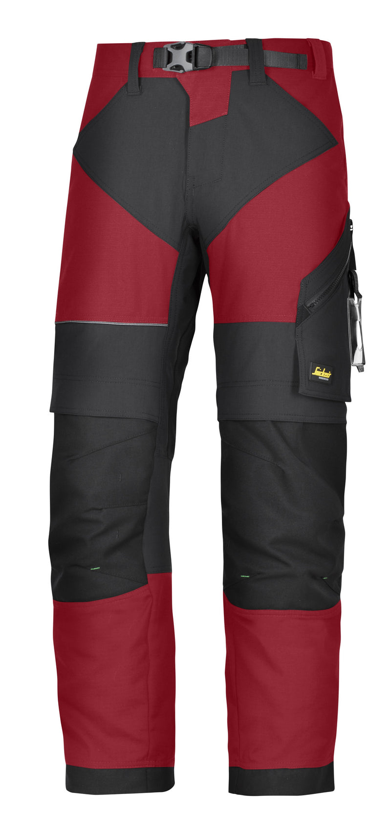 Snickers 6903 FlexiWork werkbroek+ - Chili red - Snickers Werkkledij