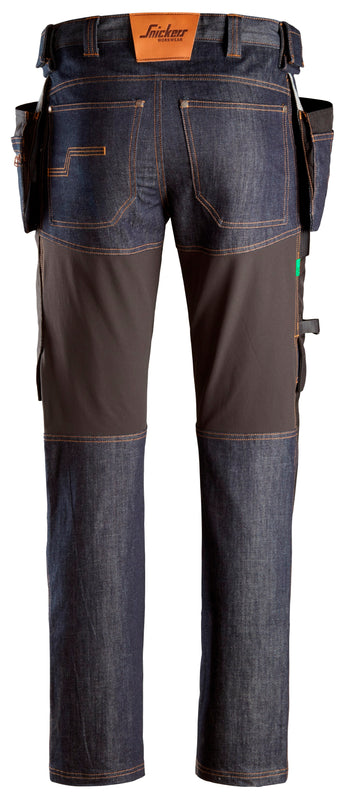 snickers 6955 FW Denim Werkbroek+ HP