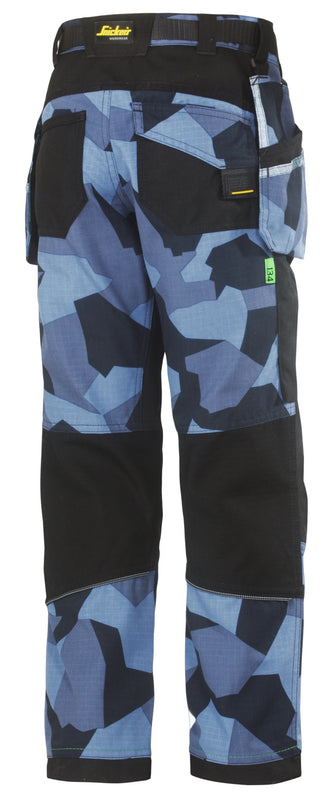 Snickers 7505 FlexiWork, Junior Camo Broek