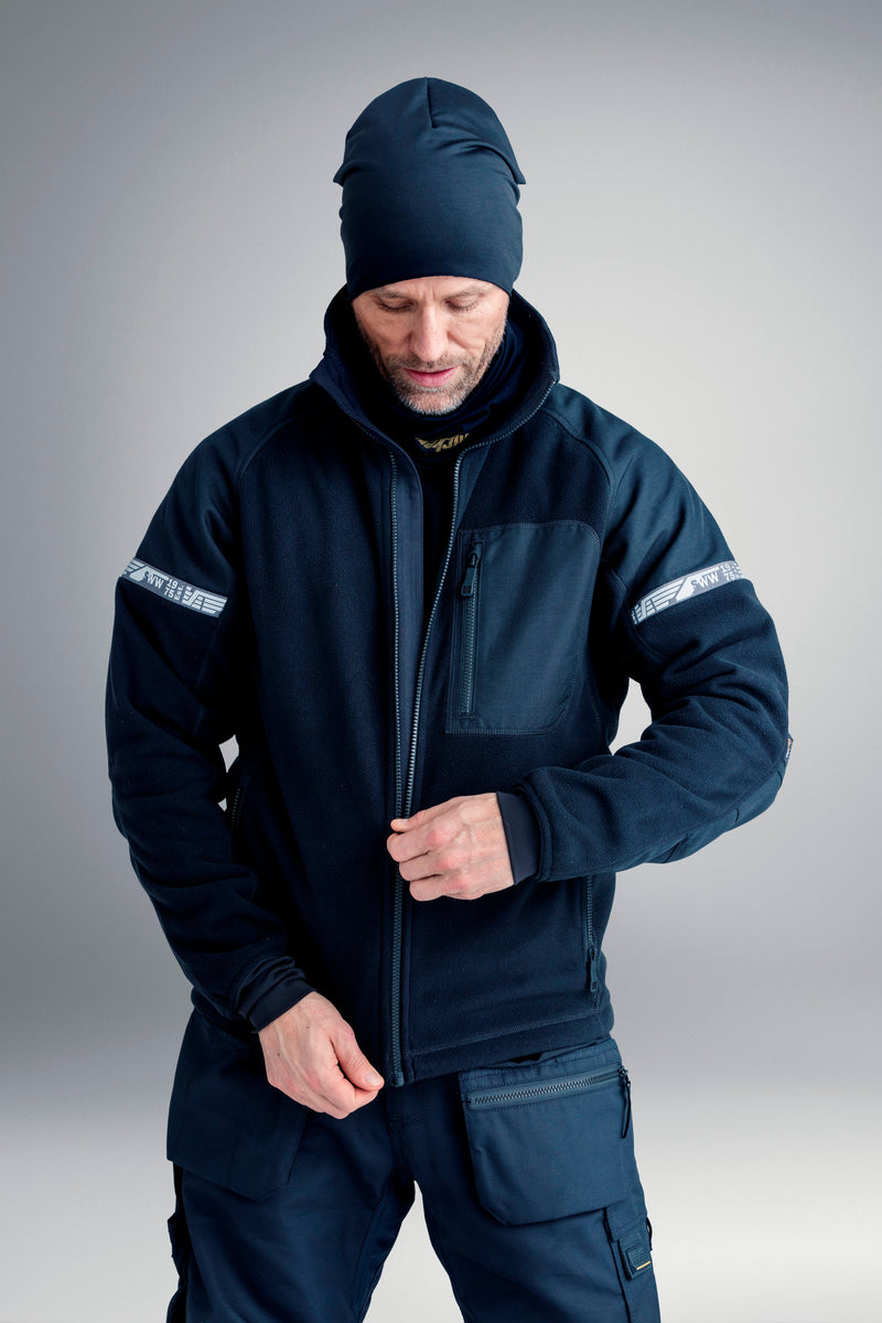 Snickers 8005 AllroundWork Windproof Fleece Jack - Snickers Werkkledij
