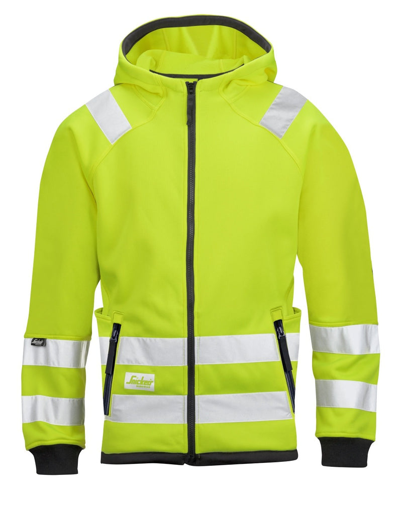 Snickers 8043 Micro Fleece Jack High Visibility