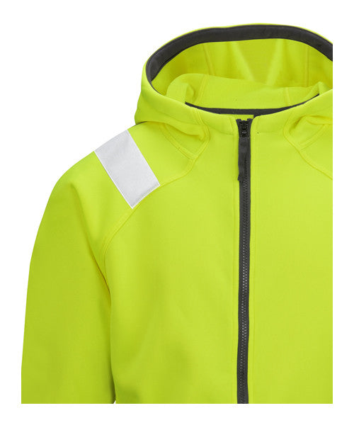 Snickers 8043 Micro Fleece Jack High Visibility - Snickers Werkkledij