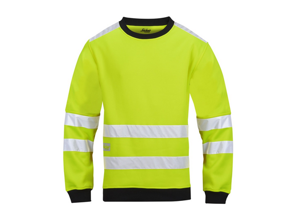Snickers 8053 Micro Fleece Sweater High visibility