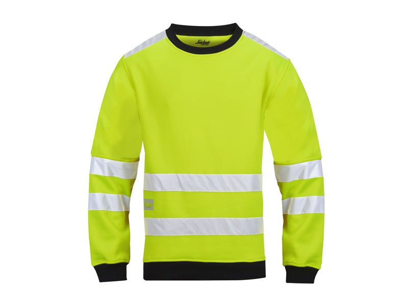 Snickers 8053 Micro Fleece Sweater High visibility - Snickers Werkkledij