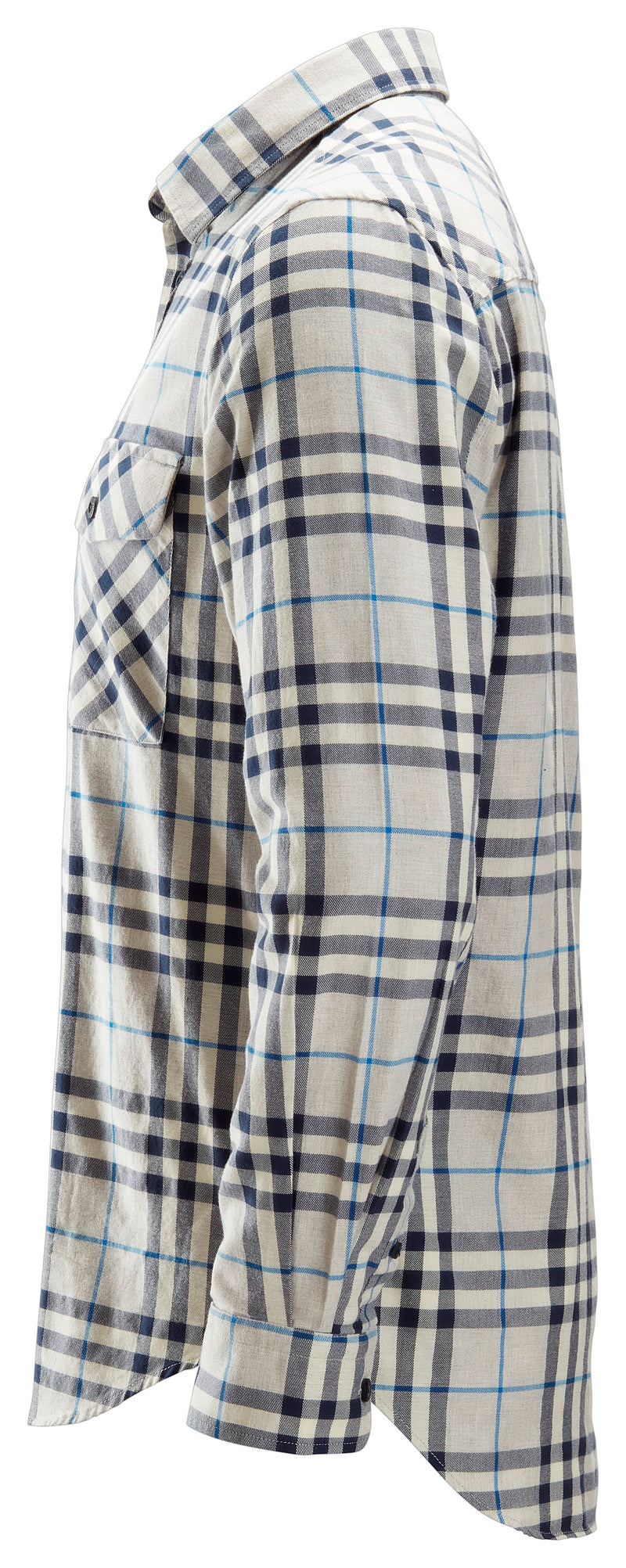 snickers 8516 AW Flannel Check LS Shirt - Snickers Werkkledij