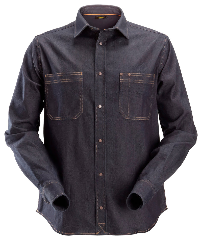 snickers 8555 AW Denim Shirt - Snickers Werkkledij