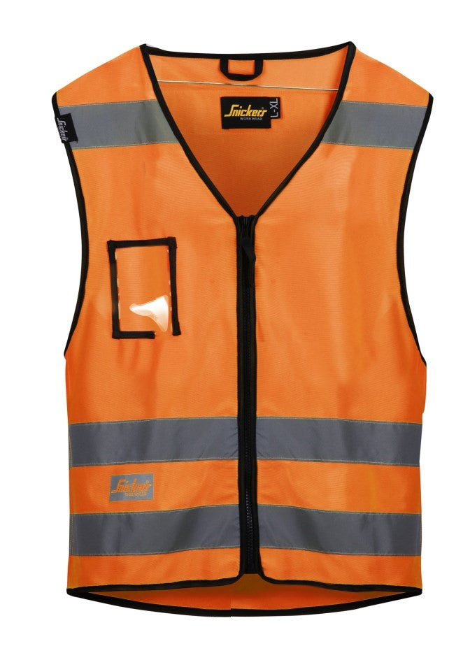 Snickers 9153 Vest High Visibility - Snickers Werkkledij