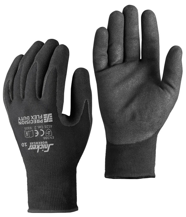 Snickers 9305 Precision Flex Duty Gloves (10 paar) - Allround model