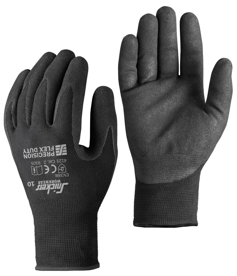 Snickers 9305 Precision Flex Duty Gloves (10 paar) - Allround model - Snickers Werkkledij