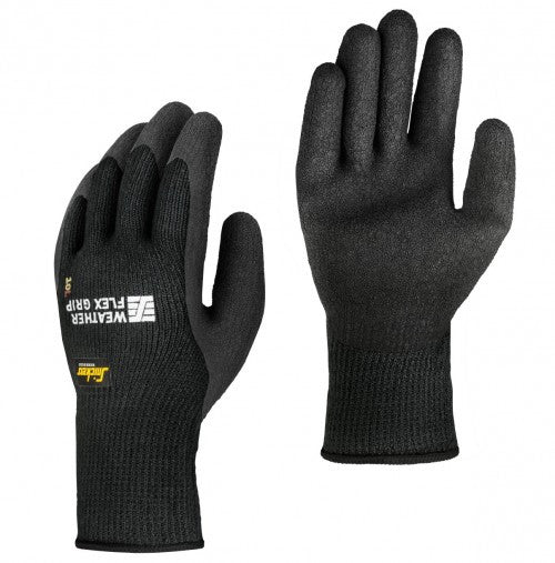 Snickers 9313 Weather Flex Grip Glove (10 paar) - Allround winter handschoen