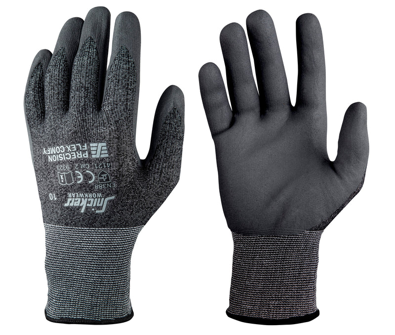 Snickers 9323 Precision Flex Comfy Gloves (10 paar) - Snickers Werkkledij
