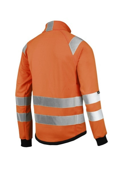 Snickers 8063 High Visibility Micro Fleece Jack  Klasse 3