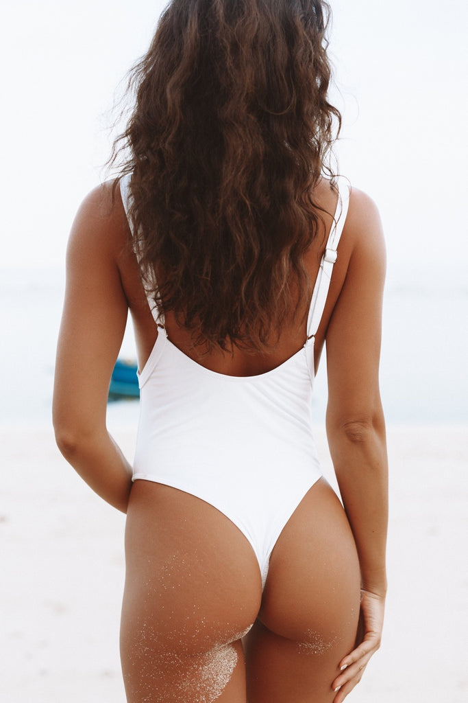 Island White One Piece
