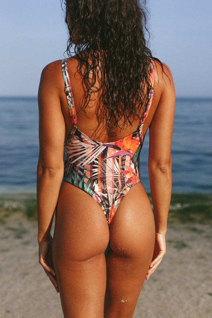 Island Tropical One Piece