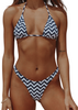 Copacabana Top - Navy Zebra