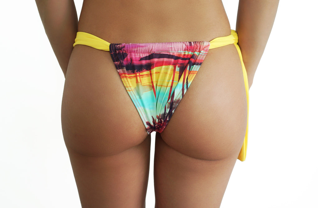Aberto Bottom - Surf Yellow