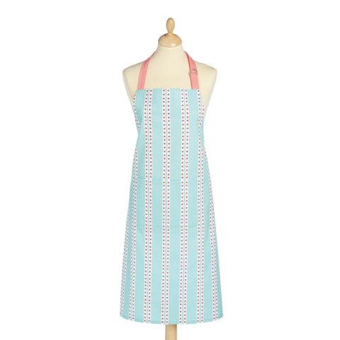 Blue And Pink Ditsy Kitchen Apron