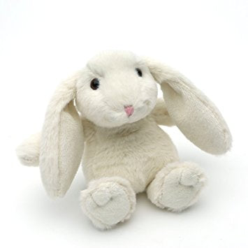 SNUGGLY BUNNY SOFT TOY IN CREAM