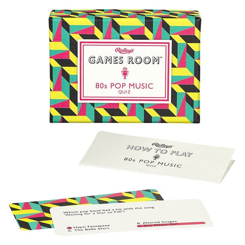 80's Pop Music Quiz by Ridley's Games
