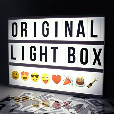 A4 Cinematic Black and White Light Box