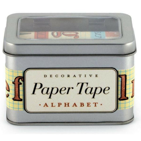 Buy Cavallini & Co Alphabet Paper Tape from Hyde and Seek