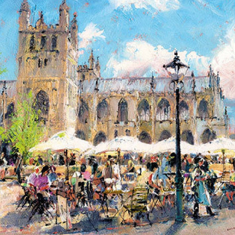 EXETER CATHEDRAL AL FRESCO CARD