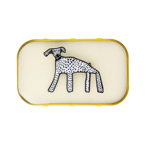Spotty Dog Brooch by Arthouse Meath
