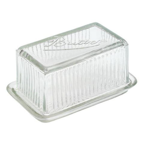 Glass Butter Dish from Hyde and Seek