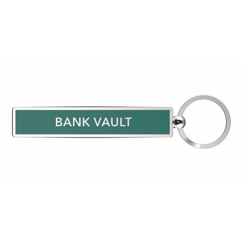 Bank Vault Key Ring