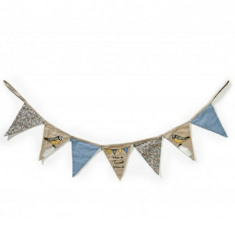 Blue Tit Home Tweet Home Bunting