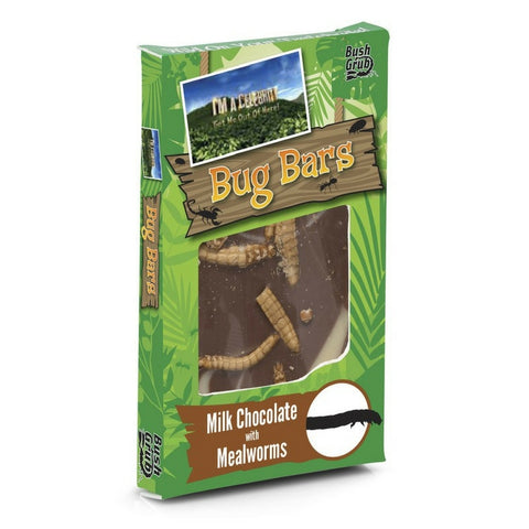 Meal Worm Chocolate Bars