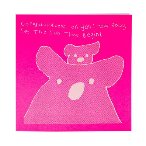 Let the Fun Times Begin Card by Arthouse Meath
