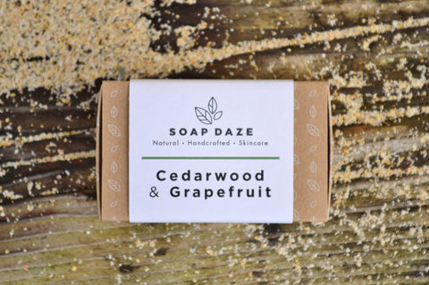 Cedarwood and Grapefruit Handcrafted Soap