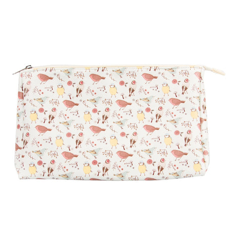 British Birds Wash Bag from Hyde and Seek