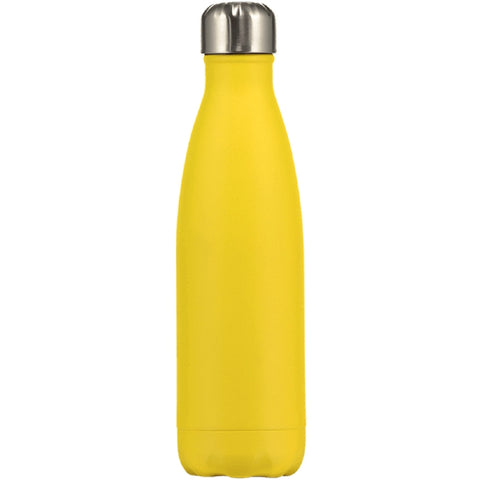 Chilly's Matte Yellow Water Bottle