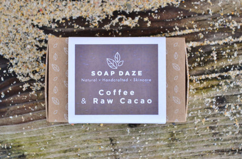Coffee and Raw Cacao Handcrafted Soap