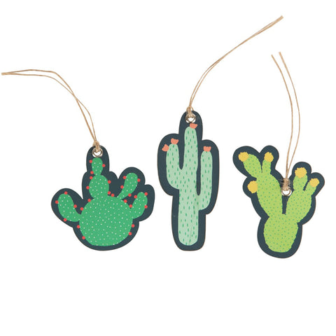 Colourful Cactus Gift Tags by Sass & Belle
